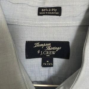J.Crew Men's Light Blue Button Down Shirt